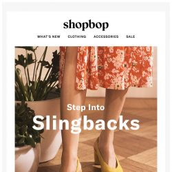 [Shopbop] These are spring's standout shoes