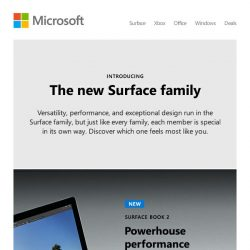 [Microsoft Store] Get to know the Surface family
