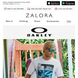 [Zalora] Oakley: Blur the line between sports and lifestyle