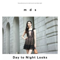 [MDS] Day to Night Looks.