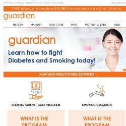 [Guardian] 📌 Find out how you can beat Diabetes and Smoking today!