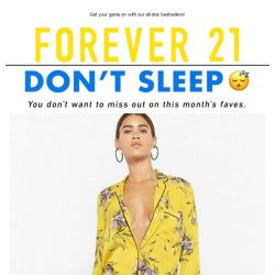 [FOREVER 21] ⭐ HEY NOW, YOU'RE AN ALL STAR ⭐