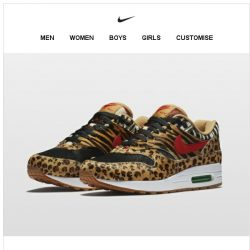 [Nike] Air Max x atmos 'Animal Pack'