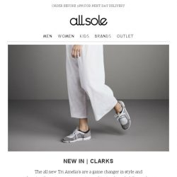 [Allsole] This one goes to the Clarks lovers...