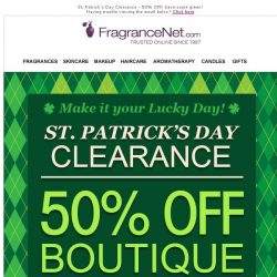 [FragranceNet] 🍀 It's your lucky day…