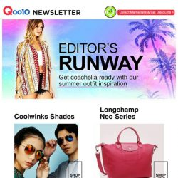 [Qoo10] Check Out Our Fashion Summer Collection - Perfect For Sunny Singapore!