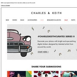 [Charles & Keith] Take your selfie game to the next level | #CHARLESKEITHCURATES Series II