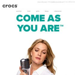 [Crocs Singapore] Introducing Come As You Are: The Musical