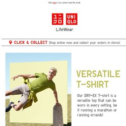 [UNIQLO Singapore] Get up, get out, get these casuals!