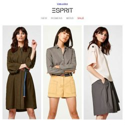 [Esprit] The must have trend this spring!