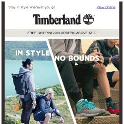 [Timberland] Travel Light with Our NEW Outdoor Collection