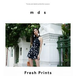 [MDS] Fresh Prints.