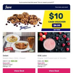 [Fave] Best thirst-quenching offers from only $3 await!