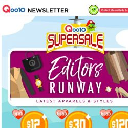[Qoo10] ⚡Snag those coupons and don't miss our SUPER fashion deals! Havaianas slippers at $11.90 only! Grab yours now!⚡
