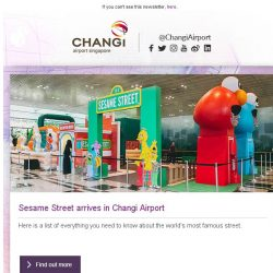 [Changi Airport] , thank you for your support!