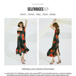 [Selfridges & Co] Psst - your new dress is right here