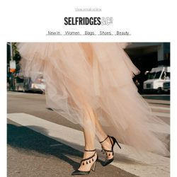 [Selfridges & Co] Attention-grabbing accessories to rev up your spring get-up