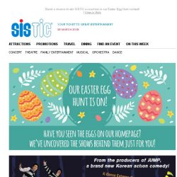 [SISTIC] Have you joined in the fun for our Easter Egg Hunt yet? 🐰