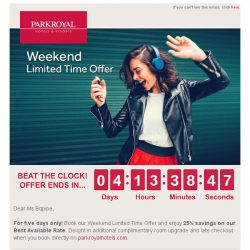 [Hotels.com] Weekend Limited Time Offer