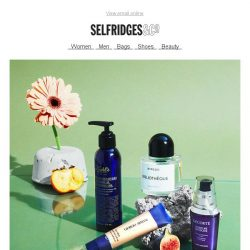 [Selfridges & Co] 10 beauty switch upsto put a little spring into your step