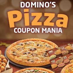 Domino's Pizza: Save Up to $48.70 with Coupon Codes!