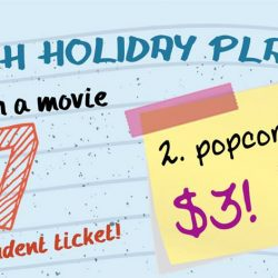 Cathay Cineplexes: $7 Movie Ticket & $3 Popcorn for Students on Weekdays!