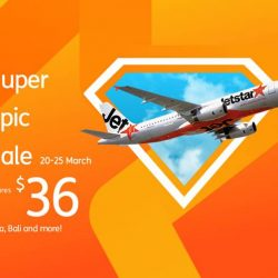 Jetstar: Super Epic Sale with All-in Sale Fares from $36 to Kuala Lumpur, Phuket, Bali, Hong Kong, Taipei & More!