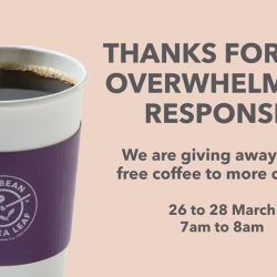The Coffee Bean & Tea Leaf®: FREE Freshly Brewed Coffee From 7am to 8am!
