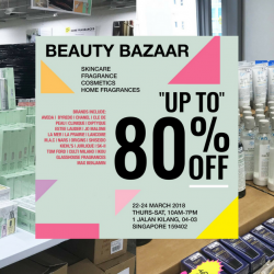 BeautyFresh: Warehouse Sale with Up to 80% OFF Skincare, Fragrances, Cosmetics & Home Fragrances