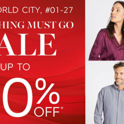 Marks & Spencer: Great World City Everything Must Go Sale with Up to 80% OFF