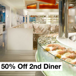 The Line Restaurant: 50% Off 2nd Diner for Buffet Dinners in March!