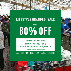 Royal Sporting House: Lifestyle Branded Warehouse Sale with Up to 80% OFF New Balance, Vans, Lacoste, Roxy & More!