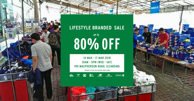 e4199e1074 14 - 17 Mar 2018 Royal Sporting House  Lifestyle Branded Warehouse Sale  with Up to 80% OFF New Balance