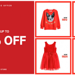 H&M Singapore: Sale Up to 50% OFF on Selected Ladies, Men's & Kids Items