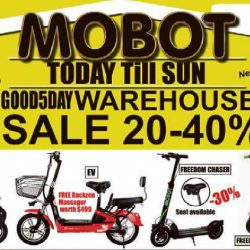 MOBOT: Good Friday Warehouse with 20% - 40% OFF Electric Scooters
