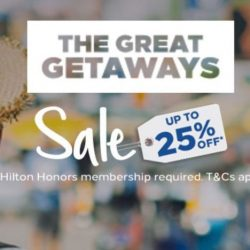 Hilton Hotels: Enjoy Up to 25% OFF Your Stay!