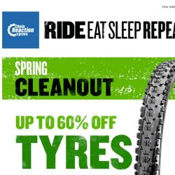 [Chain Reaction Cycles] Spring Cleanout: Big Savings on Rubber