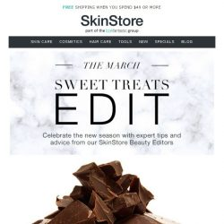 [SkinStore] Sweet Treats Edit | The Latest News From our Beauty Experts