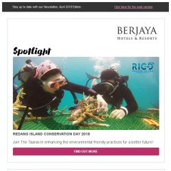 [Berjaya Hotels & Resorts EDm] Awesome April with Berjaya Hotels and Resorts!