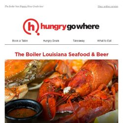 [HungryGoWhere] Your Birthday Earns You a Free Lobster! Special Treat by The Boiler Louisiana Seafood & Beer