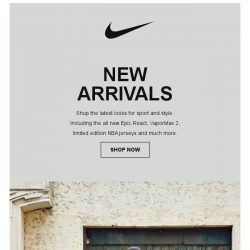 [Nike] Just In: See What's New at Nike