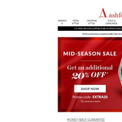 [Ashford] Save even more on our clearance items!