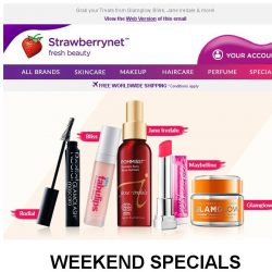 [StrawberryNet] , US$1 Deals are Scorching HOT 🔥 this Weekend!