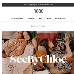 [Yoox] Boho-chic style from See by Chloé