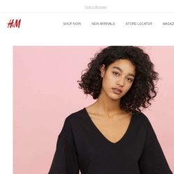 [H&M] New style crushes