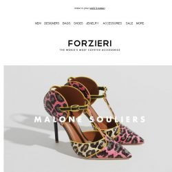 [Forzieri] New from: Malone Souliers, Versace, Red Valentino