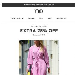 [Yoox] Discover spring must-haves on sale
