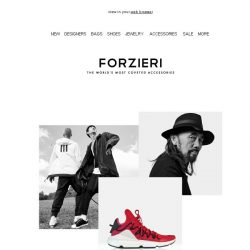 [Forzieri] Introducing Y-3 Now at Forzieri