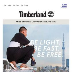 [Timberland] The Flyroam Collection: As light as we get