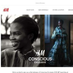 [H&M] A glimpse of Conscious Exclusive 2018